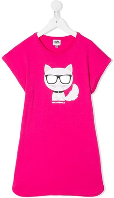 Karl Lagerfeld Paris Choupette T-Shirt dress