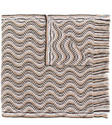 M Missoni intarsia knit scarf