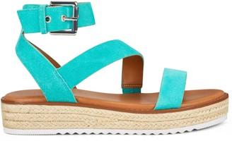 Nine West Chaya Espadrille Wedge Sandals
