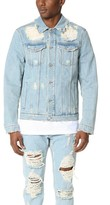 MSGM Destroyed Denim Jacket
