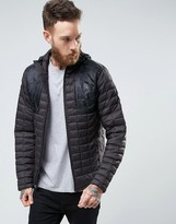 The North Face Thermoball Plus Jacket Hooded Quilt In Black