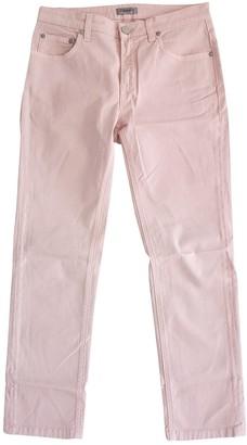 Filippa K Pink Cotton Jeans for Women