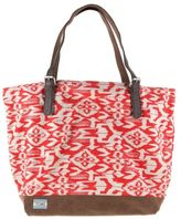 Toms New Womens Red Ikat Canvas Tote Bags