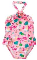 Gymboree Flamingo 1-Piece Swimsuit