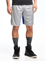 "Old Navy Go-Dry Mesh Basketball Shorts for Men (10"")"