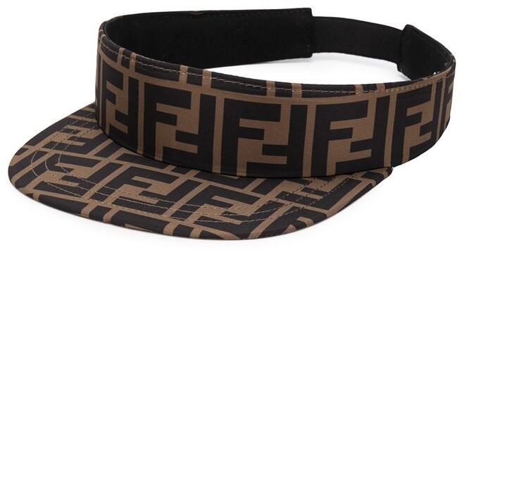 Fendi FF logo print visor