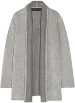 The Elder Statesman Oversized Cashmere Cardigan - Light gray