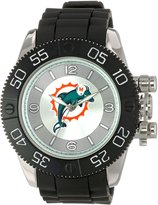Game Time Men's NFL-BEA-MIA Beast Round Analog Watch