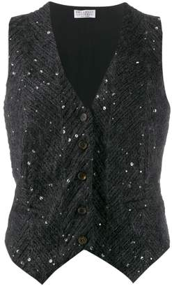 Brunello Cucinelli sequinned waistcoat