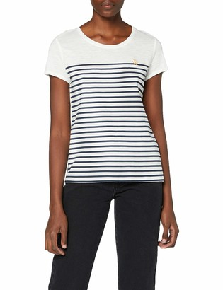 Tom Tailor Women's Streifen Embro T-Shirt