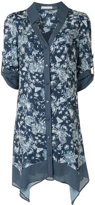 Alice + Olivia Floral Print Shirt Dress