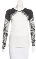 Herve Leger Yusa Long Sleeve Top w/ Tags