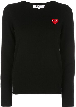 Comme des Garcons heart long sleeve T-shirt