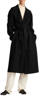 Ralph Lauren Collection Cashmere Belted Wrap Coat