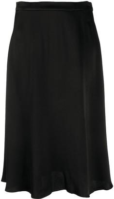 MICHAEL Michael Kors Straight Midi Skirt
