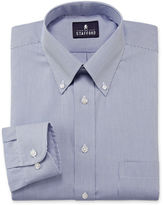JCPenney Stafford Travel Performance Pinpoint Oxford Dress Shirt