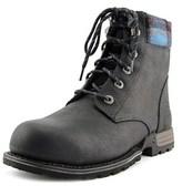 "Caterpillar Kenzie St 6"" Women Round Toe Leather Black Work Boot."