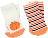 Gymboree Pumpkin & Stripe Socks
