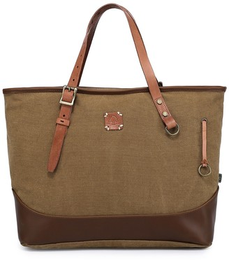 Tsd Redwood Canvas Shopper Bag