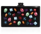 Edie Parker Jeweled Acrylic Box Clutch