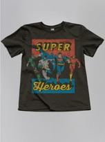 Junk Food Clothing Kids Boys Superheroes Tee-bkwa-xl