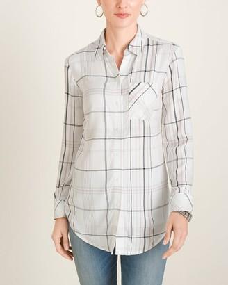 Chico's Chicos Plaid Shirt