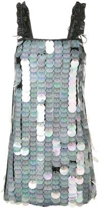 Drome Paillette-Embellished Dress