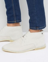 Jack & Jones Damon Desert Boots In Leather