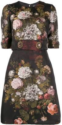 Dolce & Gabbana floral embellished short dress