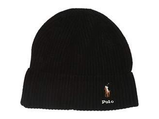 Polo Ralph Lauren Signature Cardigan Rib Cuff Hat