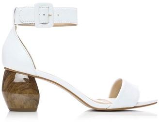 Moda In Pelle Myrre White Leather