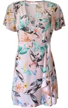 BCBGeneration Floral-Print Mini Dress
