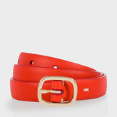 Paul Smith Women's Red Leather Belt