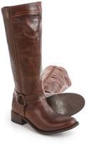 "Dan Post Hot Ticket Harness Zip Cowboy Boots - 15"", Round Toe (For Women)"