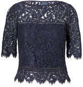 Polo Ralph Lauren Scalloped Lace Top