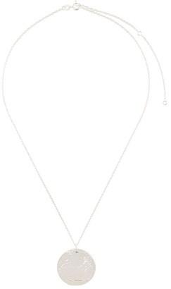Alighieri Snow Lion Medallion necklace