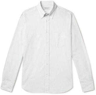 Man 1924 Slim-Fit Button-Down Collar Striped Cotton-Poplin Shirt