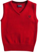 Chaps Toddler Boy Ribbed Trim Sweater Vest