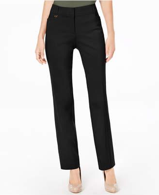 JM Collection Long Length Tummy Control Curvy-Fit Pants