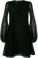 Giamba lace flared dress
