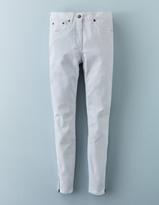 Boden Zip Ankle Skimmer Jean