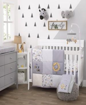 NoJo Little Love by Roarsome Lion 3-Piece Crib Bedding Set Bedding