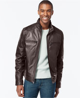 MICHAEL Michael Kors Men's Big and Tall Leather Jacket