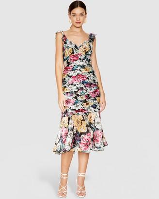 Talulah Alive Midi Dress