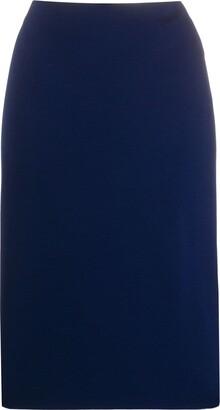 Ralph Lauren High-Rise Plain Pencil Skirt