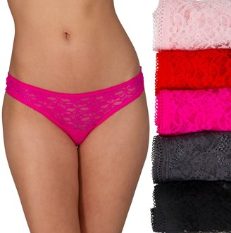 Candies Juniors' Candie's Lace Thong Set