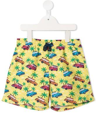 Sunuva Printe Swim Shorts