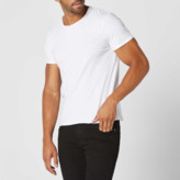 DSTLD Mens Modern Crew Neck Tee in White