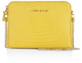 Karen Millen Croc-Embossed Mini Bag