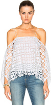 Nicholas Mosaic Lace Square Top